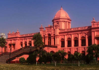 Ahsan Manzil in Dhaka also knows as Pink Palace