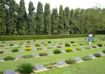 World War 2 cemetery in chittagong bangladesh