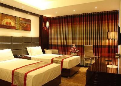 Hotel-bengal-blueberry premium twin