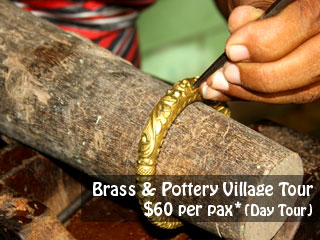 bress and pottery village t