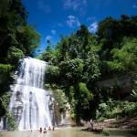 Hamham waterfall in Srimang