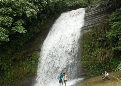 Richang waterfall at Khagrachori
