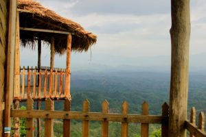 Eco cottage used at sajek tour