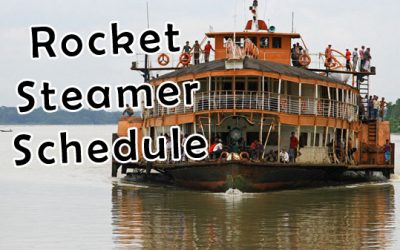 Paddle Steamer – Rocket Steamer Bangladesh Schedule