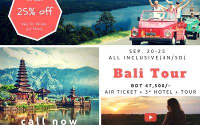 Bali Flash Sale : Sep 20 – Sep 25, 2018