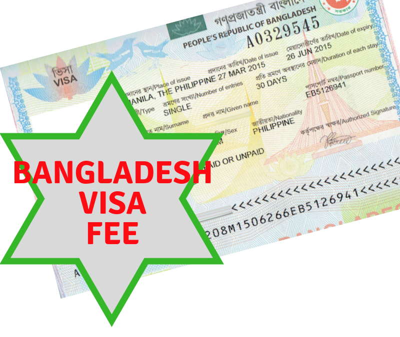 Bangladesh VISA Fee and Details