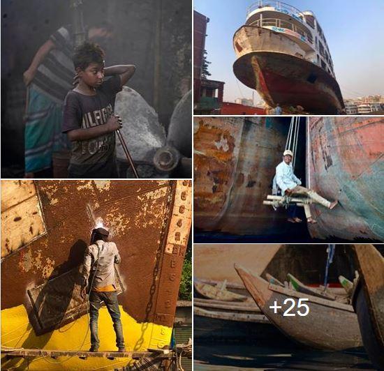 কেরানীগঞ্জ – Dockyards of Dhaka – 达卡船坞